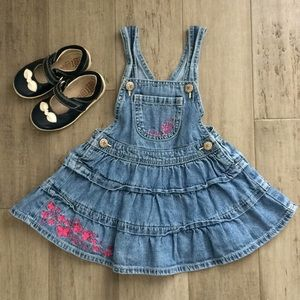 Oshkosh B'gosh jean overall dress